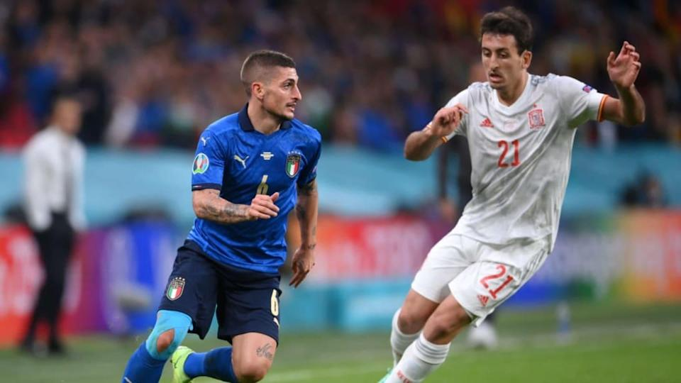 Meia liderou a Azzurra na Euro | Laurence Griffiths/Getty Images