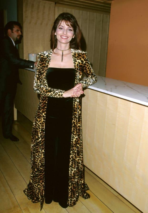 Shania Twain at the 1999 Academy of Country Music Awards