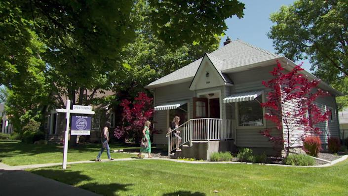 Home values in Boise have shot up 32.5% in a year, according to Zillow. / Credit: CBS News