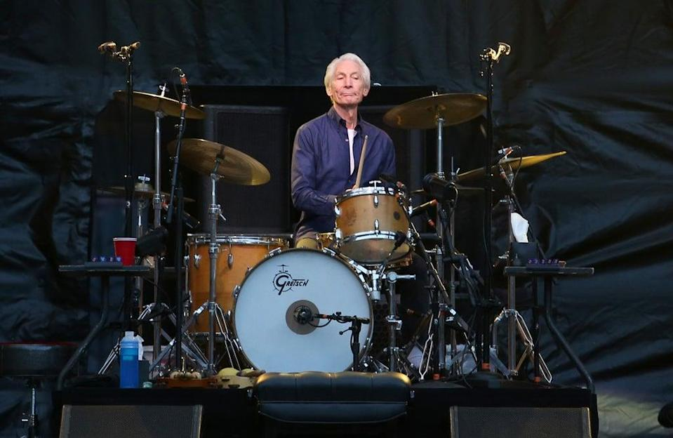 Charlie Watts during a gig in 2018 (Jane Barlow/PA) (PA Wire)