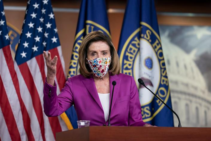 Speaker of the House Nancy Pelosi has shared plans to impeach Trump a second time following Wednesday's attack at the Capitol. (Photo: ASSOCIATED PRESS)