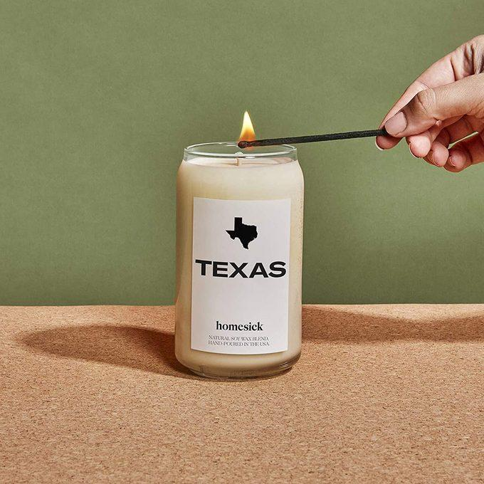 """<a href=""""https://amzn.to/3luLhM9"""" rel=""""nofollow noopener"""" target=""""_blank"""" data-ylk=""""slk:Homesick Scented Candle"""" class=""""link rapid-noclick-resp"""">Homesick Scented Candle</a>"""