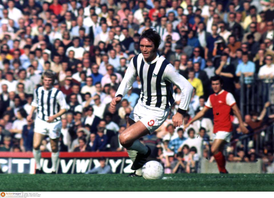 Football - Stock - circa 1970  Jeff Astle - West Bromwich Albion  Mandatory Credit: Action Images  FILM