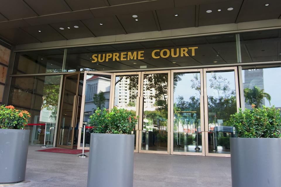 Singapore's Supreme Court or High Court (PHOTO: Dhany Osman / Yahoo News Singapore)