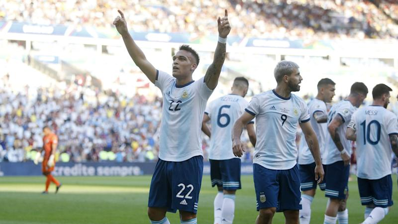 Venezuela 0 Argentina 2: Martinez stars to set up Brazil showdown