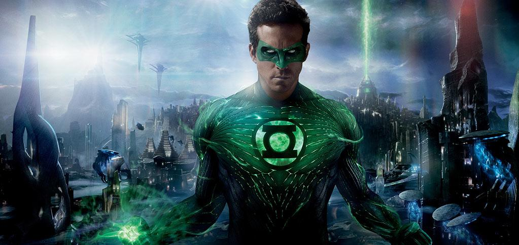 """GREEN LANTERN<br><a href=""""http://movies.yahoo.com/movie/green-lantern-2011/"""">""""Green Lantern""""</a><br>Grade: F<br>The makers of the Green Lantern's look thought it'd be a great idea to dress Ryan Reynolds up in a suit with sensors and later digitally paint the finished costume onto his body. What was surely a boon to post-production specialists looking for work, was a bust for audiences. The costume was widely criticized for looking too cartoonish and the film grossed less than $20 million -- not very much for a film said to have had a $200 million budget."""