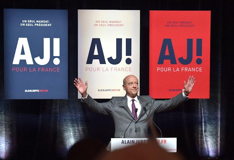 Alain Juppe is France's most popular politician (AFP Photo/Patrick Hertzog)