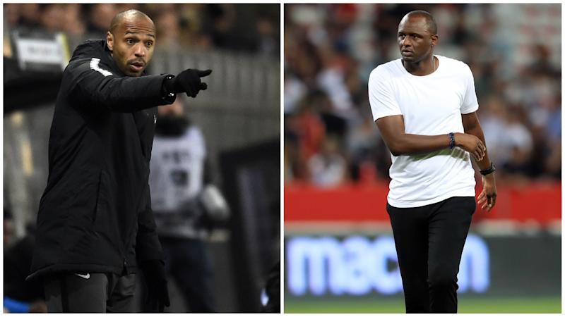 'It's not Henry v Vieira' - Monaco boss says Nice clash won't be overshadowed by their reunion