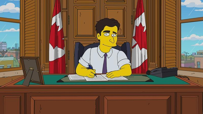 Toronto journalist voices Justin Trudeau character on episode of 'The Simpsons'