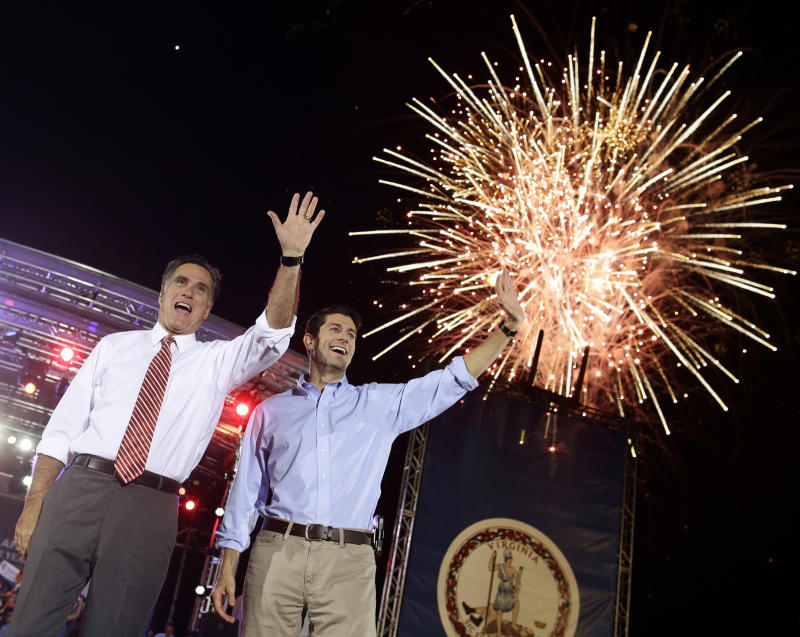 Romney shifts to center as his confidence grows