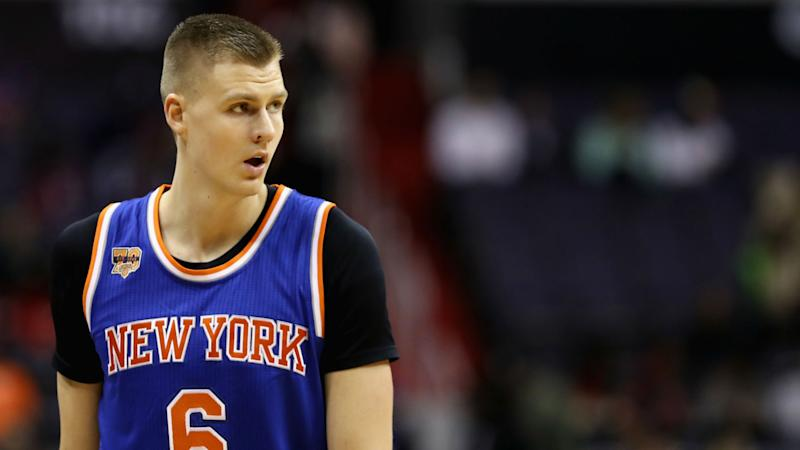 Porzingis could miss 2018-19 season, Knicks owner says
