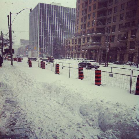 @BlueSkyStaffing: This is how much snow we have! How much do you guys have? #snowstorm #toronto #TOsnowpics