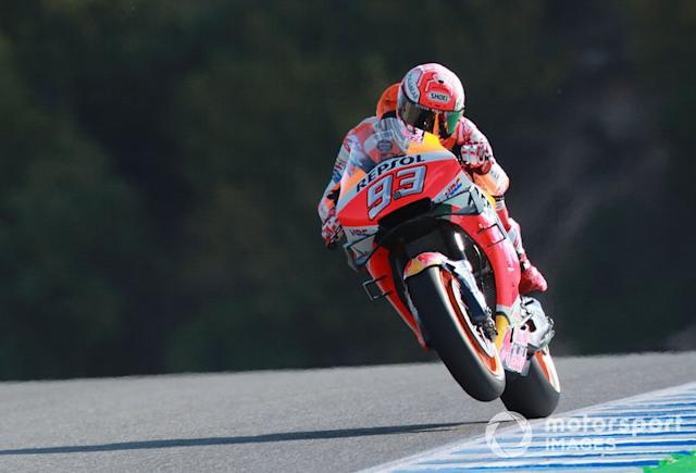 "2019: Marc Marquez <span class=""copyright"">Gold and Goose / Motorsport Images</span>"
