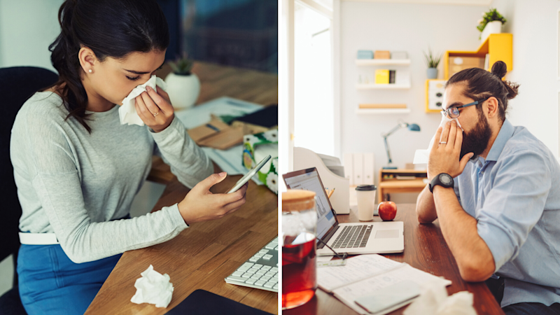 Remote work has changed how Aussies feel about calling in sick. (Source: Getty)