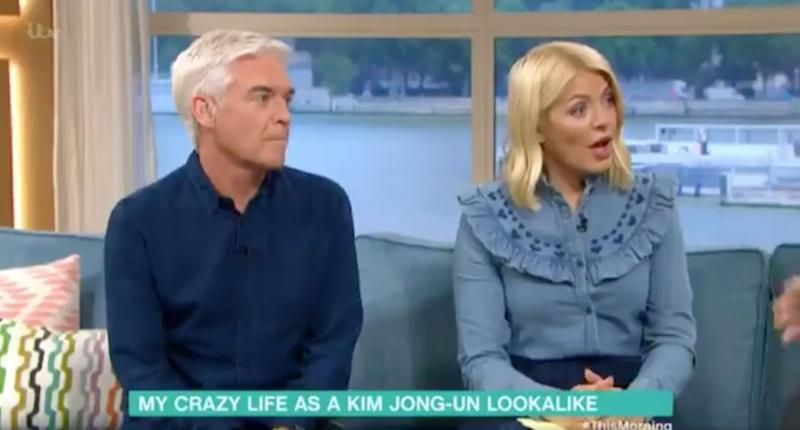 <strong>Phil and Holly's faces were a picture</strong> (Photo: ITV)