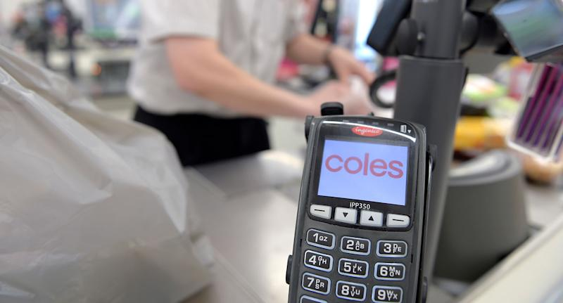 Coles checkout. Source: Getty Images (File pic)