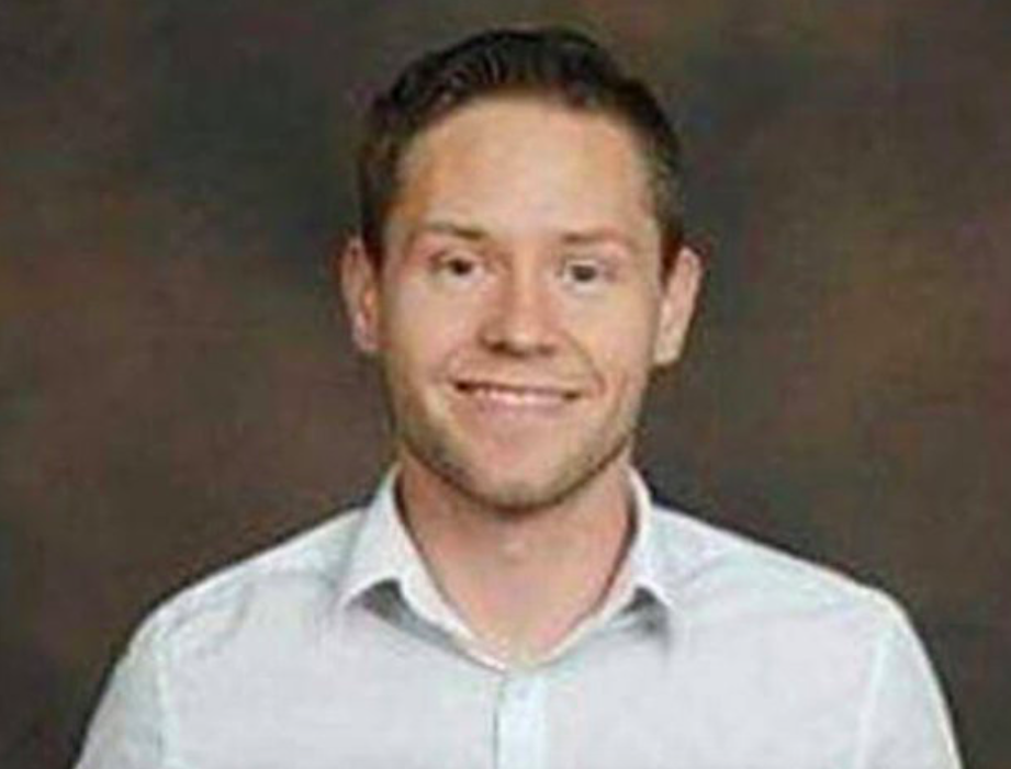"""<p>Utah resident Cameron Robinson, 28, was killed at the concert that he was attending with his boyfriend, who was also injured after shrapnel hit his back. Cameron's sister, Meghan Ervin, described her brother as """"the best uncle, brother, son, companion/boyfriend anyone could ask for"""". (Facebook) </p>"""