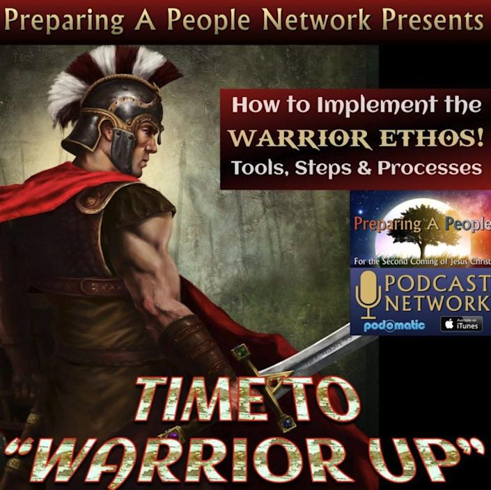 Time to Warrior Up/Preparing a People podcast