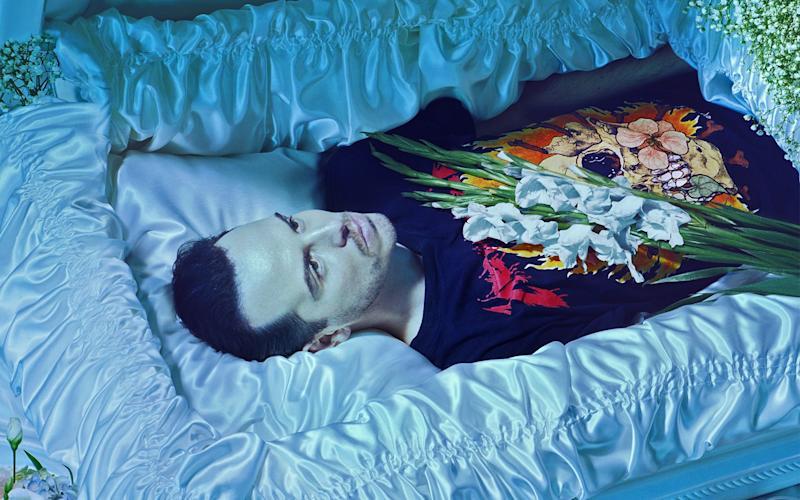 Andrew Scott as Hamlet at the Almeida Theatre