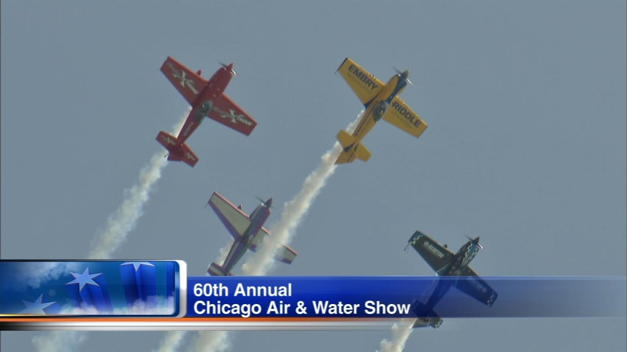 Thousands of people will have their eyes on the skies Saturday for the 60th annual Chicago Air and Water Show.