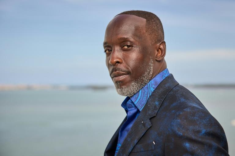Actor Michael K. Williams, famed for his role in 'The Wire' and seen here in Miami in March 2021, has died at age 54 (AFP/Rodrigo Varela)
