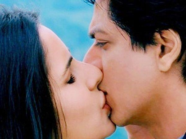<p><strong>Image courtesy : iDiva.com</strong></p><p><strong>Shah Rukh Khan and Katrina Kaif</strong>: The kiss shared between Shah Rukh Khan and Katrina Kaif in the movie <em>Jab Tak Hain Jaan</em> is legendary because SRK broke his no-kissing rule and for the first time locked lips with an actress!</p><p><strong>Related Articles - </strong></p><p><a href='http://idiva.com/news-entertainment/top-10-hot-movie-scenes/1104' target='_blank'>Top 10 hot movie scenes</a></p><p><a href='http://idiva.com/news-entertainment/vote-hrithikbarbara-kiss-vs-hrithikkatrina-kiss/5897' target='_blank'>Vote: Hrithik-Barbara Kiss vs Hrithik-Katrina Kiss</a></p>