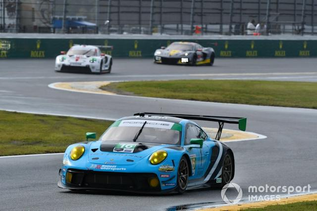 "#16 Wright Motorsports Porsche 911 GT3 R, GTD: Ryan Hardwick, Patrick Long, Klaus Bachler, Anthony Imperato <span class=""copyright"">Richard Dole / Motorsport Images</span>"