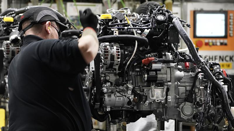 Brexit gloom laid bare in 'terrible' manufacturing report