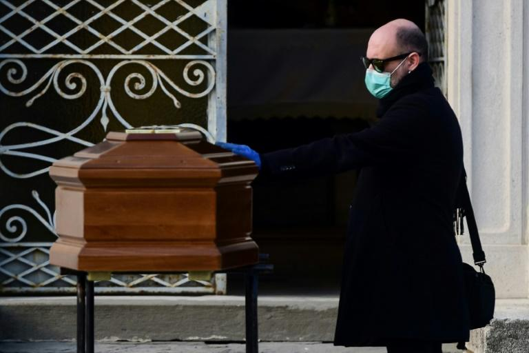 Italy's mortality rate among those infected with the virus is a relatively high 8.6 percent