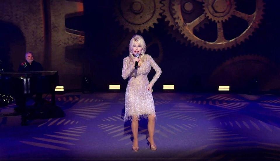 <p>Having just turned 75 years young back in January, age is absolutely not slowing Dolly down. She's been a vocal advocate for the COVID-19 vaccine, cranking out hit after hit, and still madly in love with her husband of over 50 years. God bless. </p>