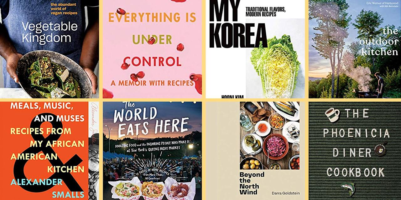 <p>If the coming year in cookbooks could be summed up in one neat phrase, we'd have to say it's going to be the year of origin stories. We interpret that broadly. The books we're already leafing through (or looking forward to leafing through) in 2020 retread ancient history, revisit homegrown habits, and reexamine roots. These books are gently reminding us that looking backwards isn't a foolish endeavor, even when the rest of the world is sprinting forwards. Sometimes, a good memory is the best meal prep. That and a deep breath, especially when you're standing in the kitchen with a slew of ingredients in front of you and a hungry clan awaiting your final dish.<br><br>Of course, it isn't as simple as looking back. Cookbooks this year are coming on the heels of a decade that was defined largely by opening up the mysterious, high-energy world of culinary arts to the people. And that's literally what cookbooks do. You'll see that through thoughtful instruction, gorgeous imagery, and updated technique in the following 10 cookbooks, which are our favorites of the year so far here at <em>Esquire.</em> Use them (or if you're a dreamer but not a do-er, just display them) well.<br></p>