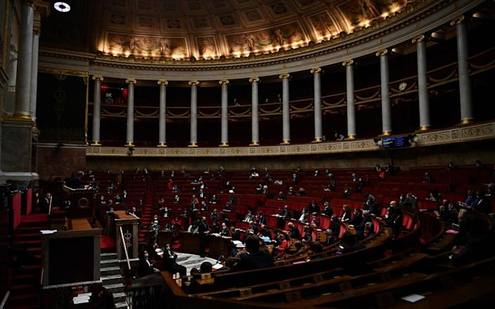 French MPs in the National Assembly - CHRISTOPHE ARCHAMBAULT/AFP