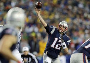 The Patriots' victory in January vs. the Colts is where deflate-gate started. (AP)