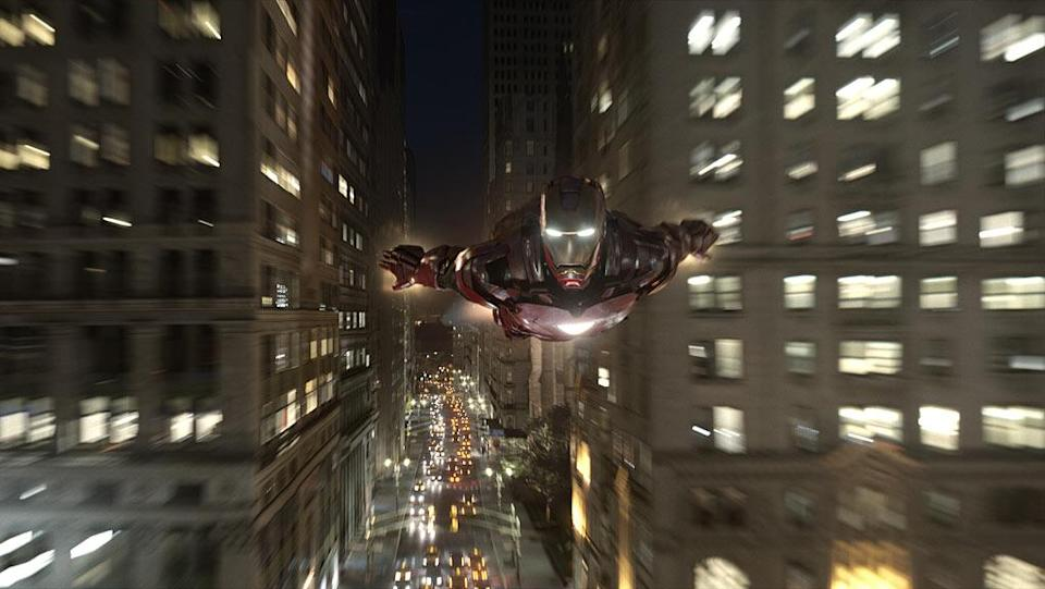 """Iron Man in Marvel's <a href=""""http://movies.yahoo.com/movie/1810026516/info"""" data-ylk=""""slk:The Avengers"""" class=""""link rapid-noclick-resp"""">The Avengers</a> - 2012"""