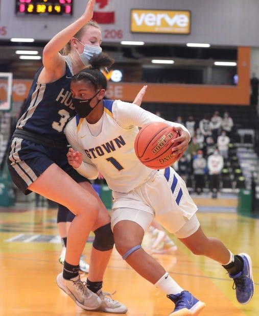 Kamorea Arnold led Germantown High School (29-1) to the Wisconsin Interscholastic Athletic Association Division 1 girls basketball state crown in February, averaging 22.9 points per game to pair with 6.3 rebounds and 5.1 assists.
