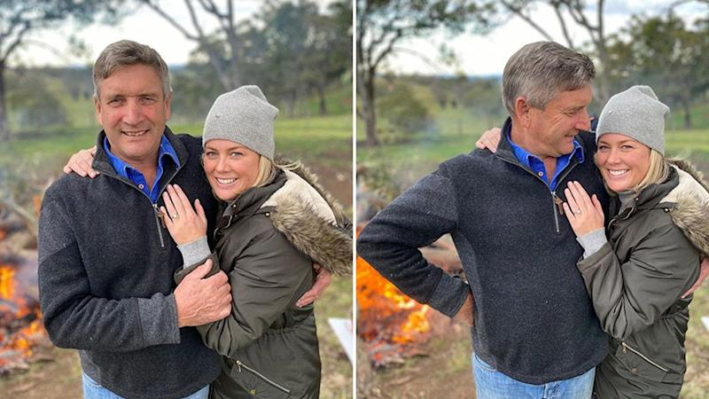 Sunrise's Samantha Armytage and fiancé Richard Lavender