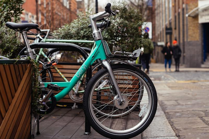Beryl's emerald bikes are available to hire in the Square Mile (Anna Rachel Photography / Beryl )