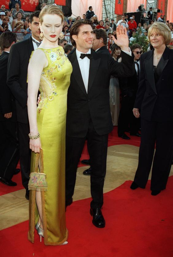 Kidman and Cruise on the red carpet at the 69th Academy Awards, 1997 (AFP/Getty)