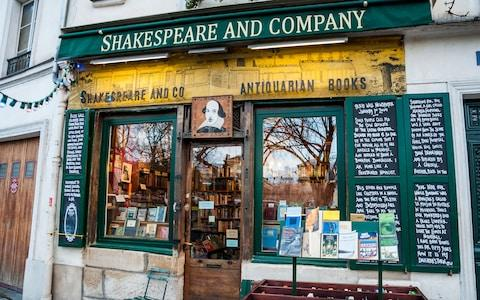 Shakespeare & Company - Credit: This content is subject to copyright./edella