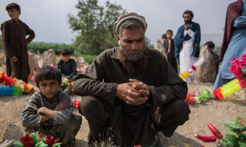 Afghan families torn apart by drone strikes – picture essay