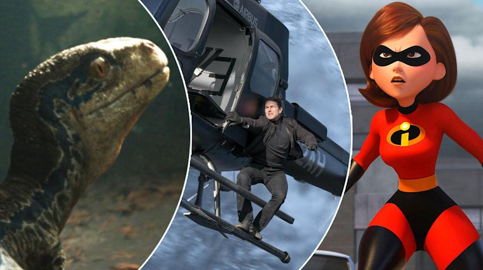 Expect to see more from Jurassic World: Fallen Kingdom, Mission: Impossible – Fallout and maybe even Incredibles 2…
