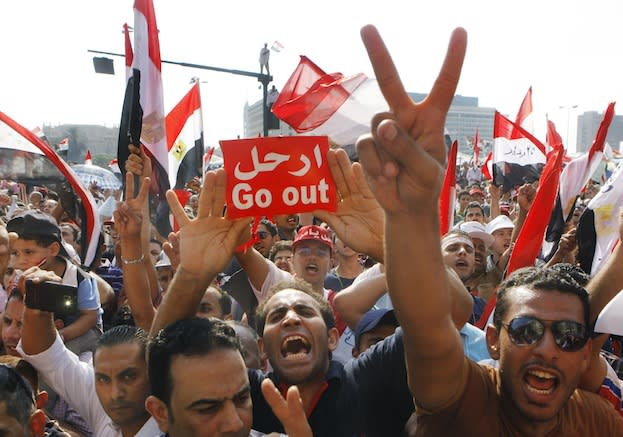 The Fascinating Art of Egypt's Protests