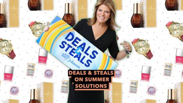 PHOTO: Deals & Steals on summer solutions (ABC News)