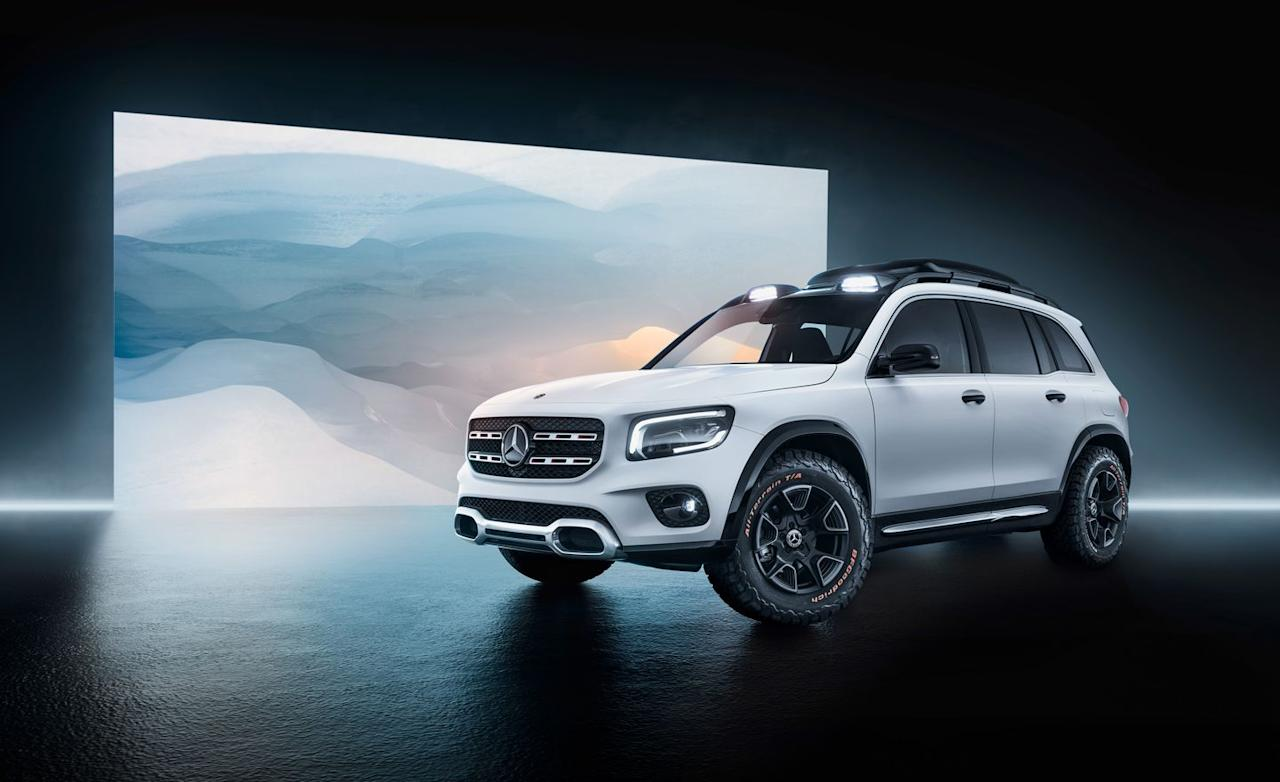 View Photos of the Mercedes-Benz Concept GLB