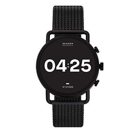 """<p><strong>Skagen</strong></p><p>amazon.com</p><p><strong>$189.00</strong></p><p><a href=""""https://www.amazon.com/dp/B08DK1V1C6?tag=syn-yahoo-20&ascsubtag=%5Bartid%7C10054.g.34313481%5Bsrc%7Cyahoo-us"""" rel=""""nofollow noopener"""" target=""""_blank"""" data-ylk=""""slk:Buy"""" class=""""link rapid-noclick-resp"""">Buy</a></p><p><strong><del>$295.00</del> (36% off)</strong><br><br>A smartwatch that does all smartwatch tasks (monitoring heart rate, receiving smartphone notifications, tracking activity, etc.) but looks less clunky than a Fitbit or Apple Watch? That's a win.</p>"""