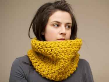 Crochet Snood, $50