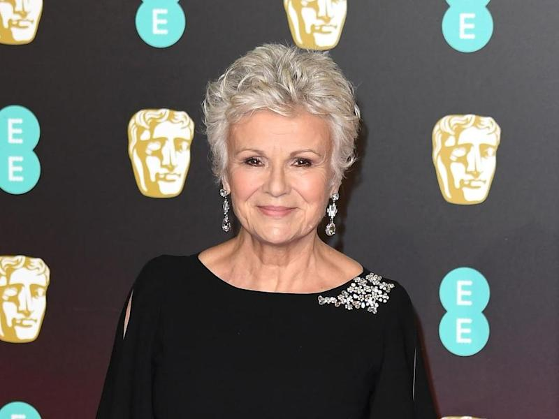 Julie Walters at the 2018 Baftas: Jeff Spicer/Getty