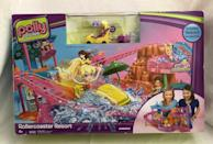"<p>If somehow you attempted to go your whole childhood without losing Polly Pocket pieces, then you deserve a medal. This <a href=""https://go.redirectingat.com?id=74968X1596630&url=https%3A%2F%2Fwww.ebay.com%2Fitm%2FRARE-NEW-FACTORY-SEALED-Polly-Pocket-Roller-Coaster-Resort-Playset-Mattel%2F233764533125%3Fhash%3Ditem366d73b385%253Ag%253Ai6MAAOSwHOVdcT9M&sref=https%3A%2F%2Fwww.redbookmag.com%2Flife%2Fg34751269%2Fmost-expensive-valuable-2000s-toys-movies-games%2F"" rel=""nofollow noopener"" target=""_blank"" data-ylk=""slk:Rollercoaster Resort (all pieces included)"" class=""link rapid-noclick-resp"">Rollercoaster Resort (all pieces included)</a> now runs for $340, so I guess it does pay off to be organized as a kid? </p>"
