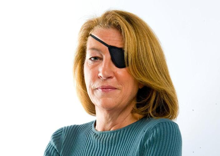 US journalist Marie Colvin was killed by Syrian rocket fire in February 2012 while reporting in the city of Homs (AFP Photo/)