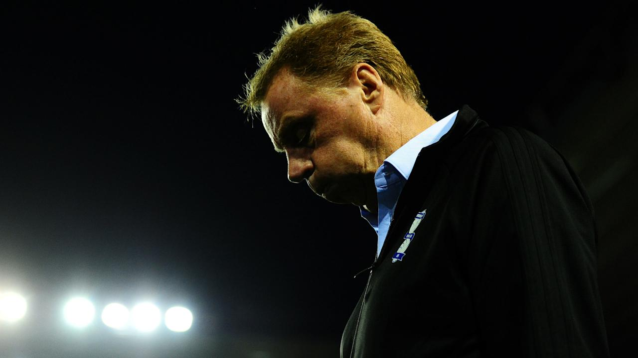 Former Portsmouth and Tottenham boss Harry Redknapp has been dismissed by Championship club Birmingham City.